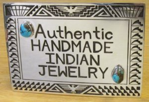 Authentic Handmade Indian Jewelry Plaque