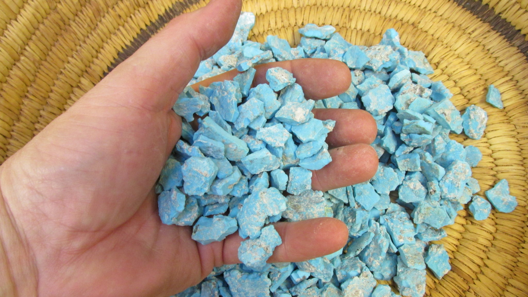 Sleeping Beauty Turquoise rough for your jewelry projects