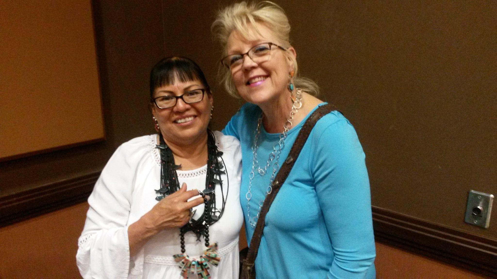 Jolene Bird with Tucson Indian Jewelry's Christy
