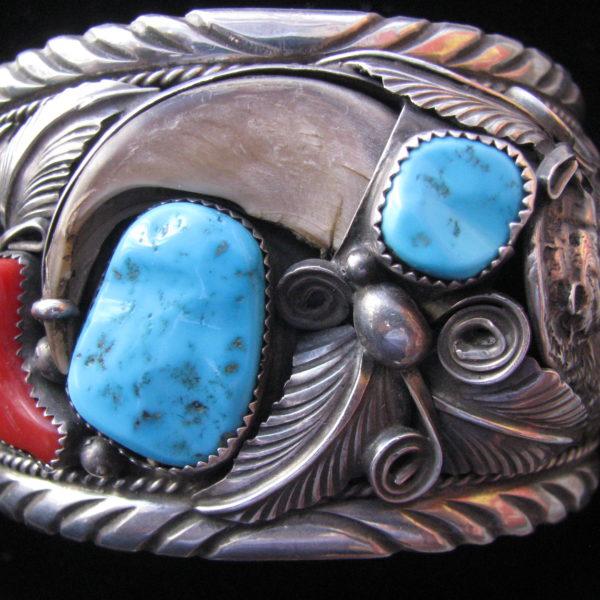 Navajo Bear Bracelet